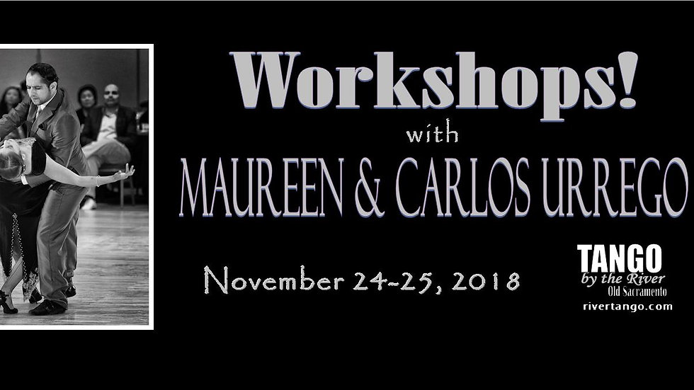 Workshops with Carlos & Maureen Urrego