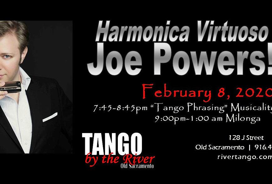 Workshop with Joe Powers
