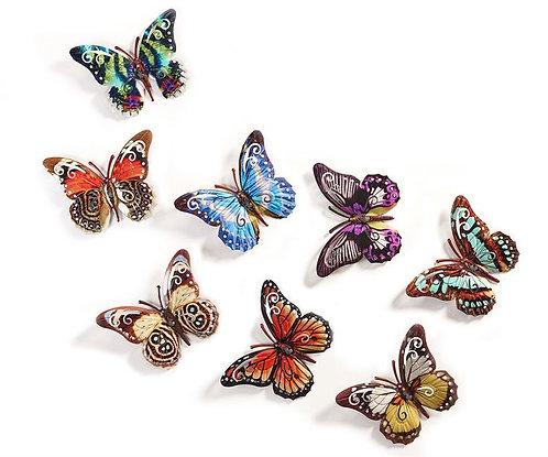 Small Iron Butterfly Wall Art