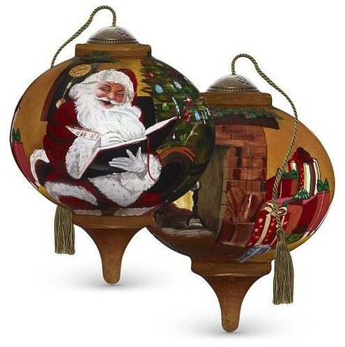 Santa's Notes Ornament