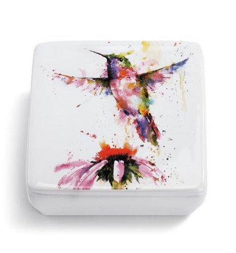 Hummingbird Vanity Box
