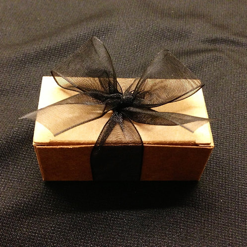 Kraft Box with Ribbon