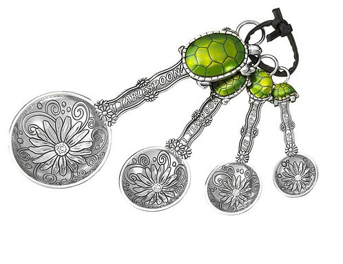 Turtles 4 pc measuring spoon set