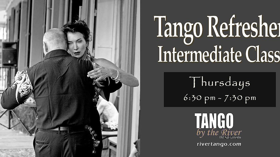 Tango Refresher Class (Couples Only) ~ March 25, 2021