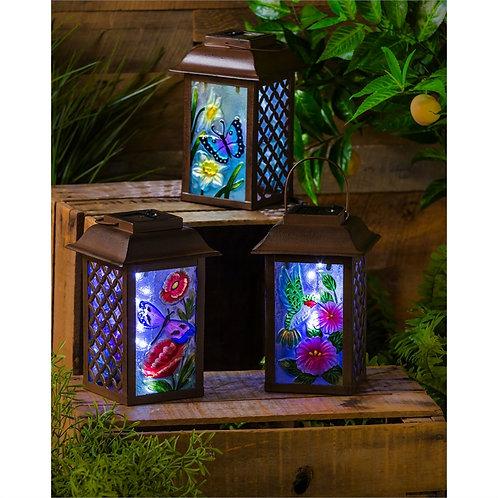 Solar Floral Lantern