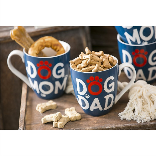 Dog Mom & Dad Mug gift set
