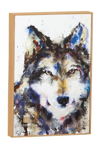 Traveler Wolf Wall Art