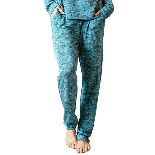Mint Heather Lounge pants with pockets