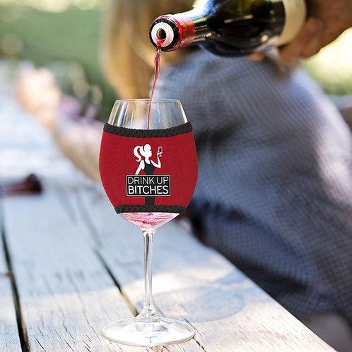 Drink Up Wine Sleeve