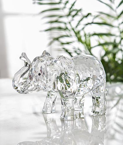 Acrylic Elephant Figure