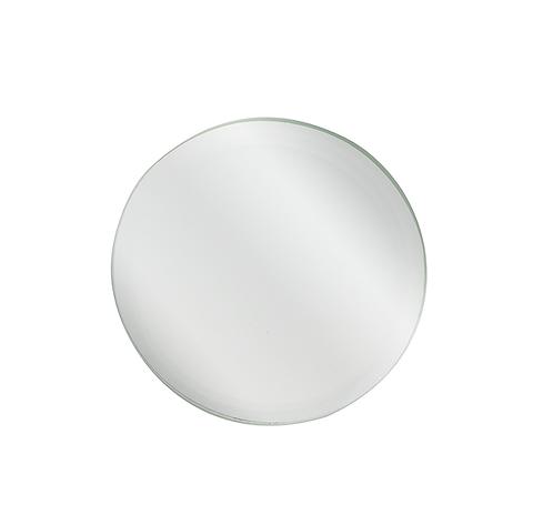 Round Beveled Mirror