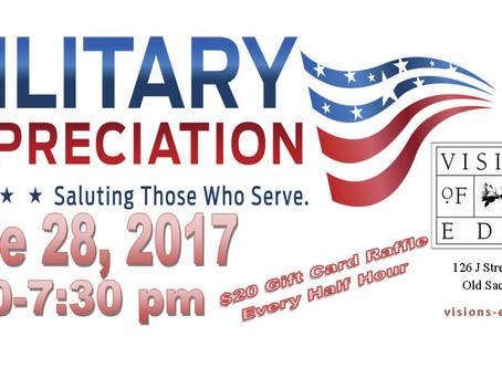 Military Appreciation Party!