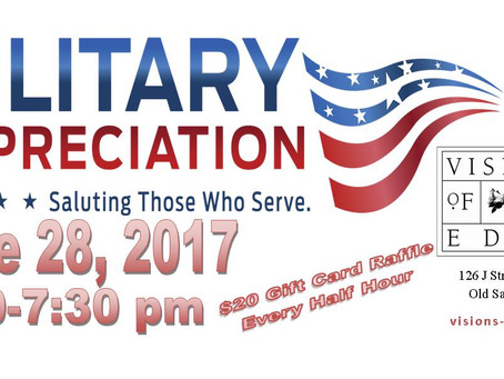 Military Appreciation Party!