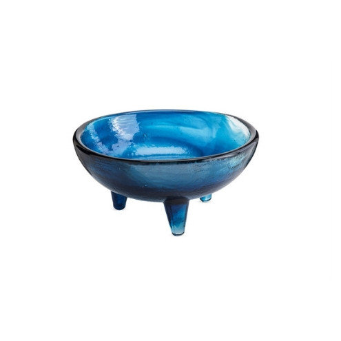 Molcajete Recycled Glass Dip Bowl