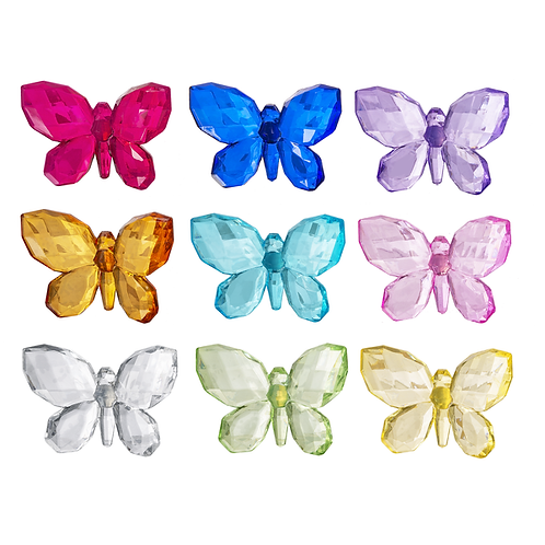 Acrylic Butterfly Magnet