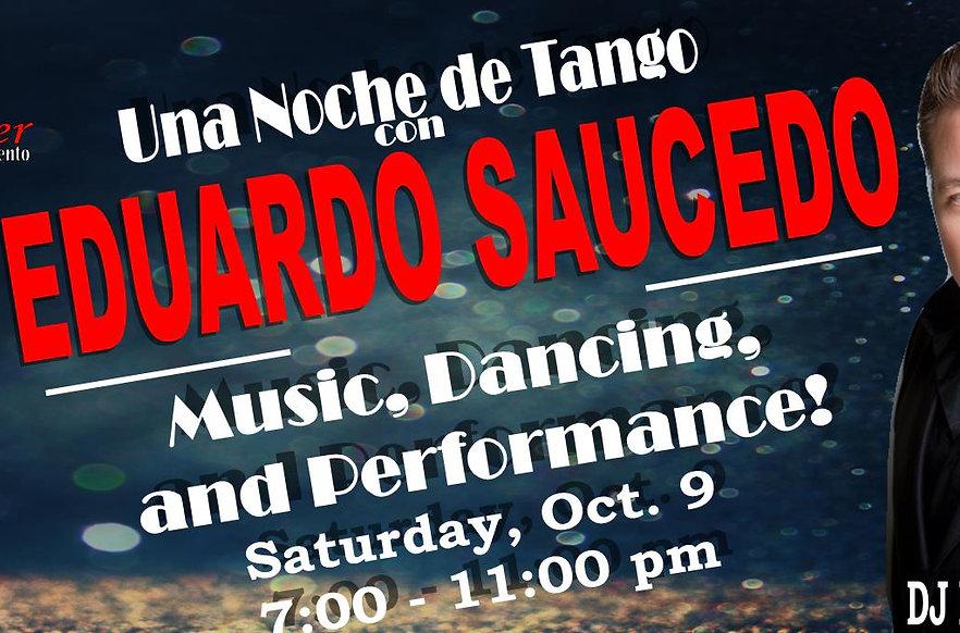 Una Noche de Tango Milonga ~ Oct. 9, 2021