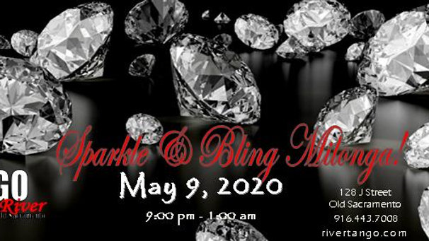 Sparkle & Bling Milonga ~ May 9, 2020
