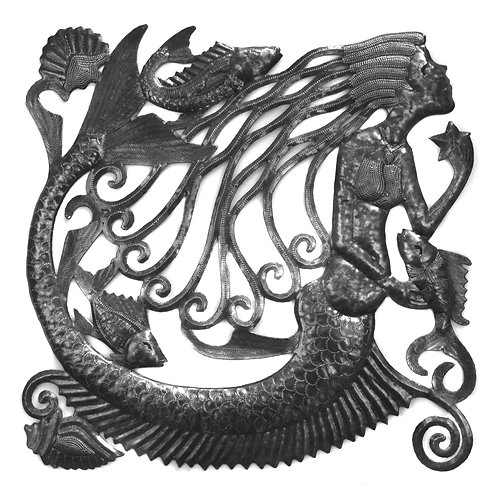 Tidepools Mermaid Wall Art