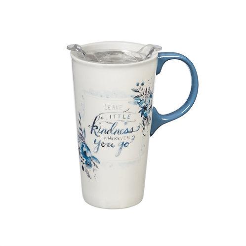 17oz Kindness Ceramic Travel Mug