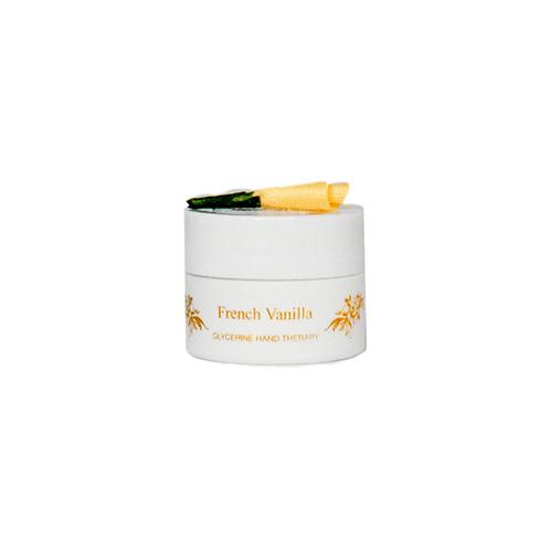 French Vanilla Hand Therapy 1/4oz pot