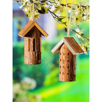 Natural Wood Polinater Habitat