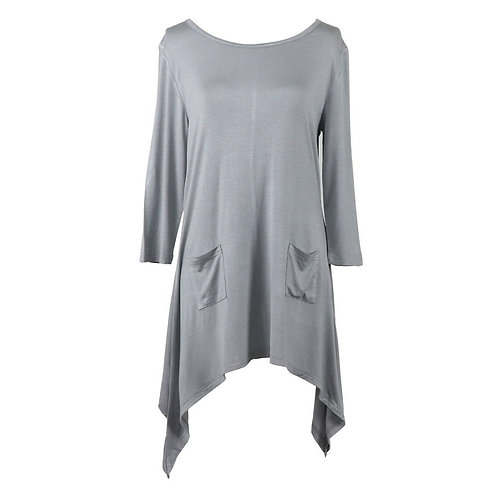 Lounge Luxe Grey Top