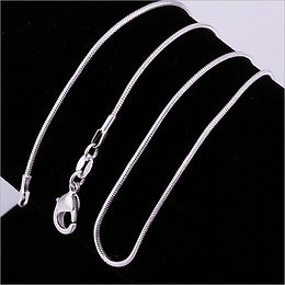 """18"""" Sterling Silver Chain"""