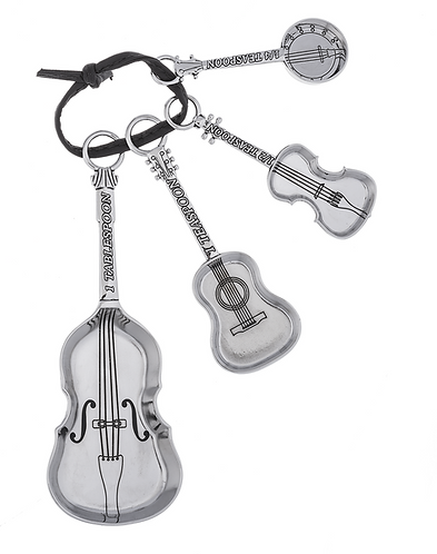 String Instrument 4 pc measuring spoon set
