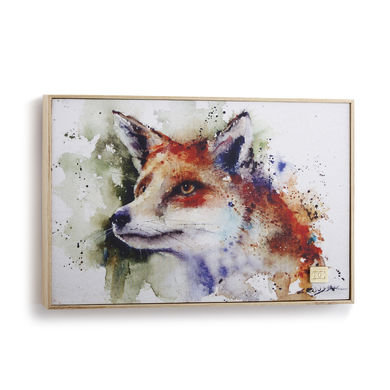 Curious Fox Wall Art