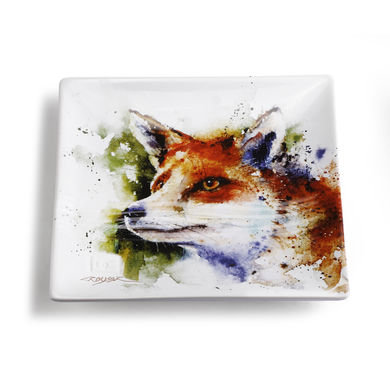 Curious Fox Snack Plate