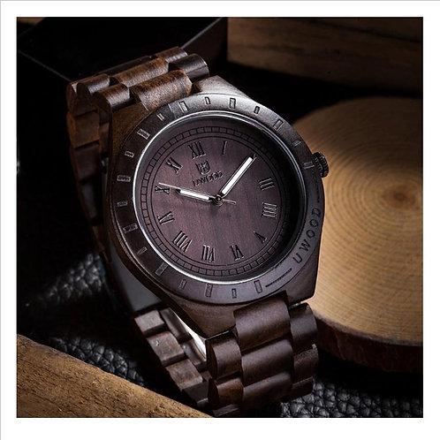 Dark Wooden Watch