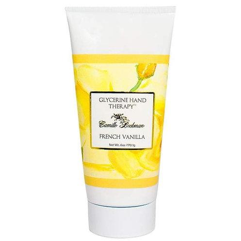 French Vanilla Hand Therapy 6oz tube