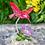 Thumbnail: Hummingbird Garden Acrylic Figure