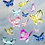 Thumbnail: Small Butterfly Ornament