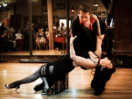 What does it mean to lead in tango?