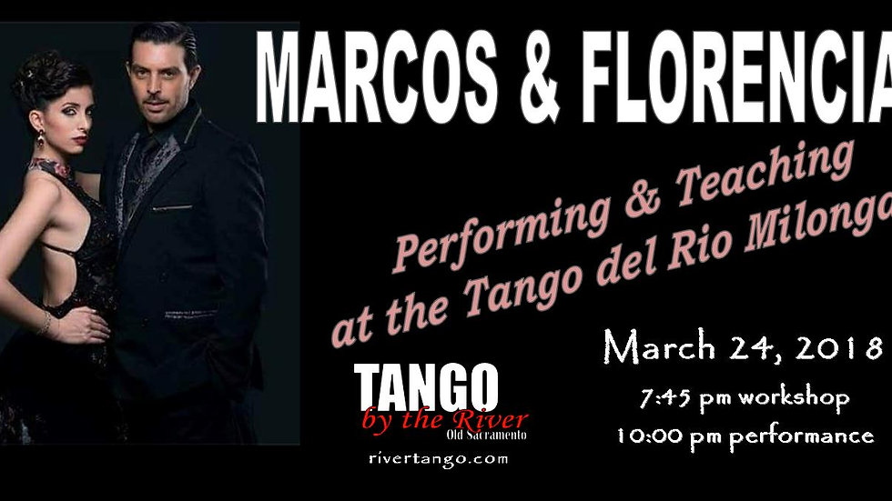 Marcos & Florencia Perform! ~ March 24, 2018