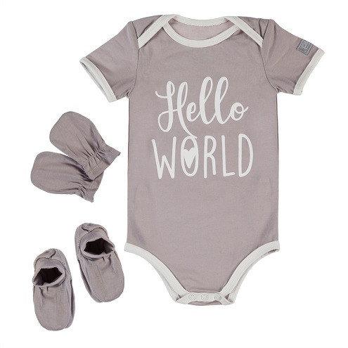 Hello World Boxed Newborn set