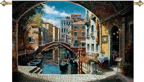 Archway to Venice Grand Tapestry