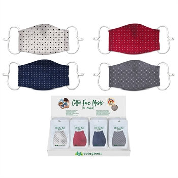 Cotton Masks for Adults & Kids!