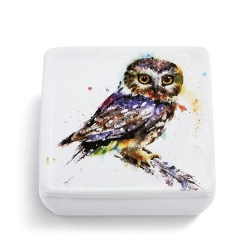 Owl Vanity Box