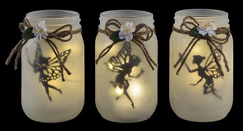Fairy Jar with LED light