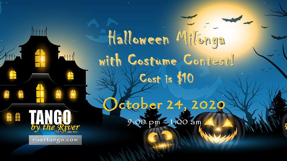 Halloween Milonga! ~ October 24, 2020
