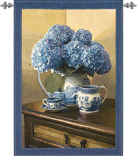 Blue Willow Grand Tapestry