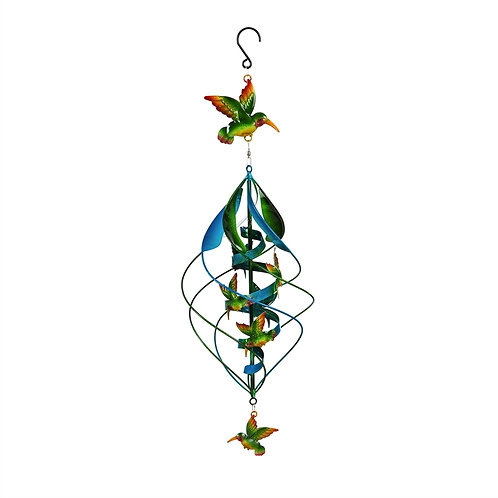 Double layer hummingbird twirler