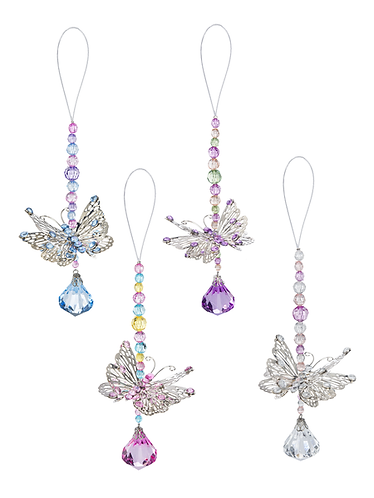 Enchanted Butterfly Pendant Ornament
