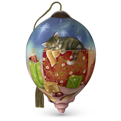 Kitten in a Box Ornament