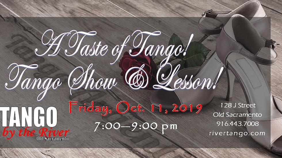 A Taste of Tango!
