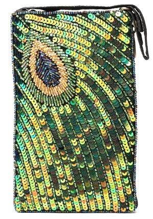 Peacock Sequin Club Bag