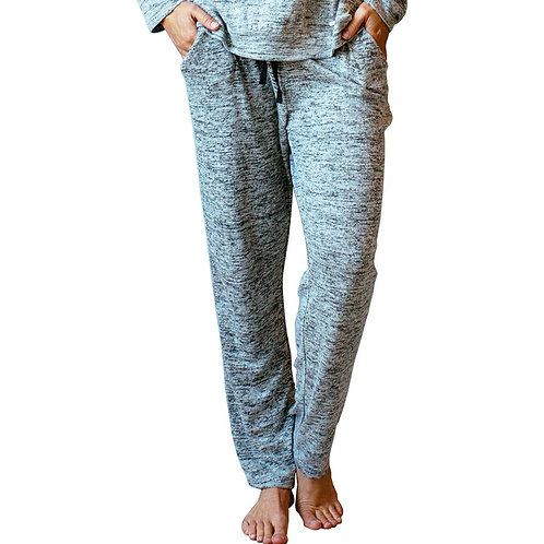 Gray Heather Lounge pants with pockets