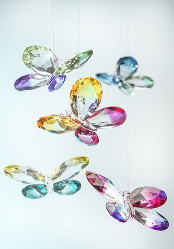 Ombre Butterfly Ornament